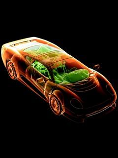 Гоночная машина sport car