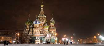 St. Basil's Cathedral (Pokrovsky Sobor) Moscow Cathedral, Red Square